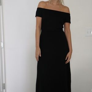 Ann Taylor Maxi Dress - Black - Size S - NWT